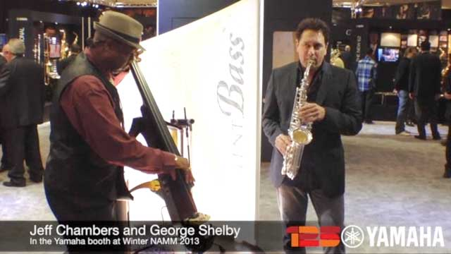 Jeff Chambers and George Shelby Perform at NAMM