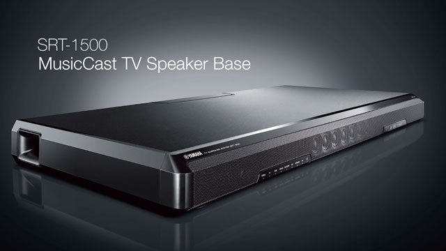 SRT-1500 MusicCast TV Speaker Base Overview