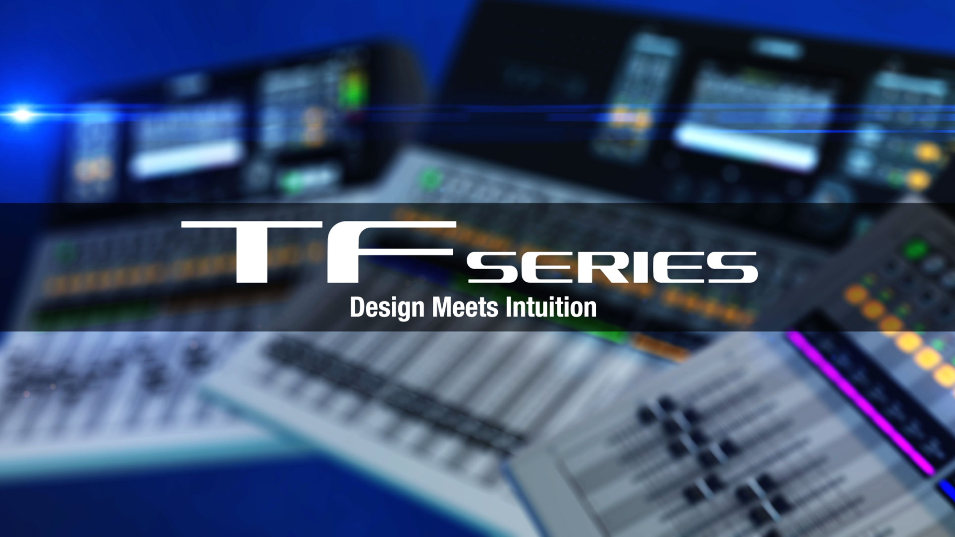 Yamaha TF Series Overview