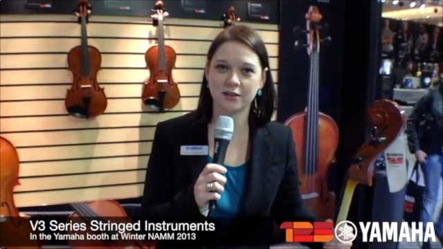 New V3 Series Strings at NAMM 2013