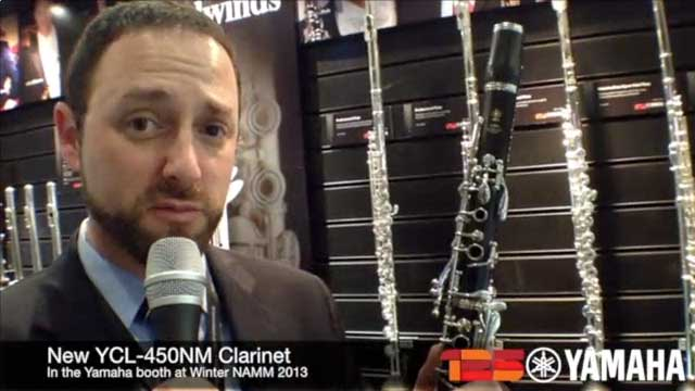 New YCL-450NM Clarinet at NAMM 2013