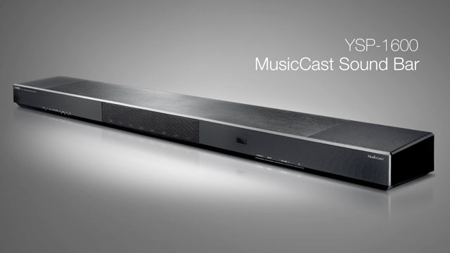 YSP-1600 MusicCast Sound Bar Overview