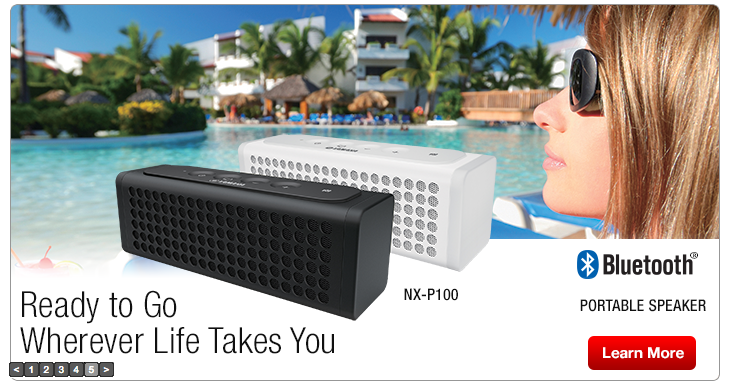 NX-P100 Portable Wireless Speaker