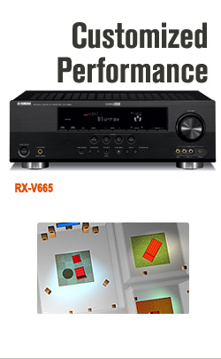 Yamaha home theater solutions for Yamaha av receiver rx v665
